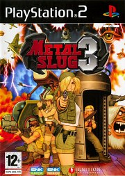 Carátula de Metal Slug 3D - PS2