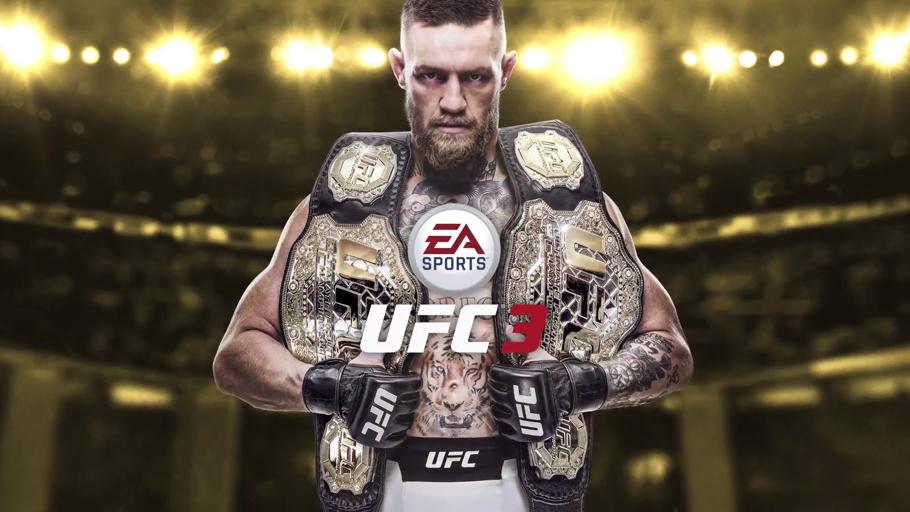 Conor McGregor copará la portada del nuevo EA Sports UFC 3