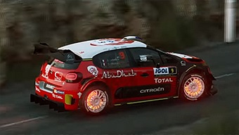 WRC 7: Gameplay con Stéphane Lefebvre: Córcega