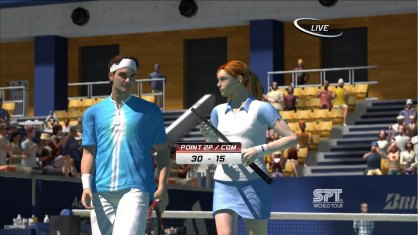 Virtua Tennis 3: Avance