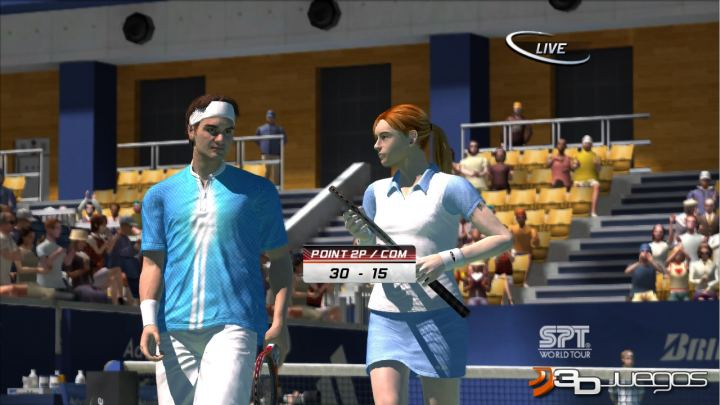 Virtua Tennis 3 - Avance