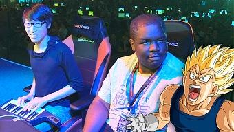 Dragon Ball Fighter Z: El jugador del piano asombra en un torneo