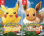Pokémon Let's Go Pikachu / Eevee Nintendo Switch