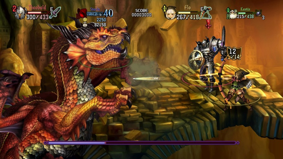 Dragon's Crown Pro: Dragon's Crown Pro es artesanía beat'em up 2D para PS4