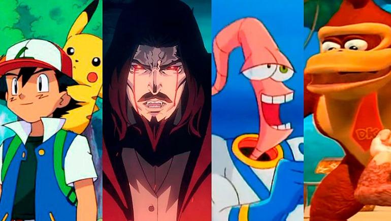 10 interesantes series de animación inspiradas en videojuegos