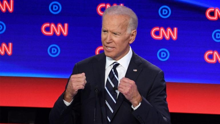 El candidato a la presidencia de Estados Unidos, Joe Biden, critica a los desarrolladores de juegos violentos