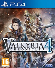 Carátula de Valkyria Chronicles 4 - PS4