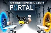 Carátula de Bridge Constructor Portal - Linux