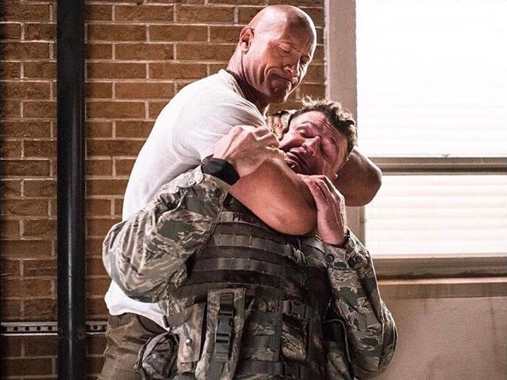 """Dwayne """"The Rock"""" Johnson muestra fotos del rodaje de Rampage"""