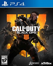 Carátula de Call of Duty: Black Ops 4 - PS4