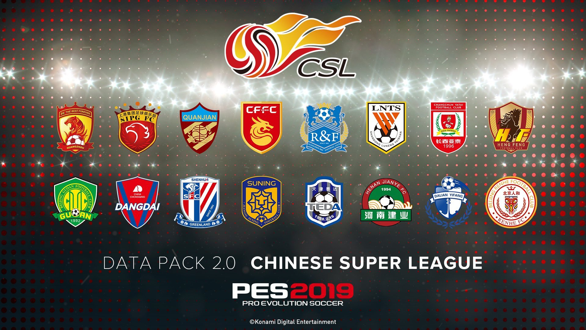 PES 2019 recibirá el Data Pack 2.0 el 25 de octubre