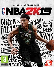 Carátula de NBA 2K19 - Nintendo Switch