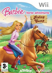 Carátula de Barbie Horse Adventures: Riding Camp - Wii