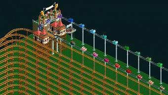 RollerCoaster Tycoon 2: tardarás 12 años en recorrer esta montaña rusa