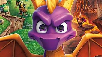 Spyro Reignited Trilogy solo incluye en disco el juego original