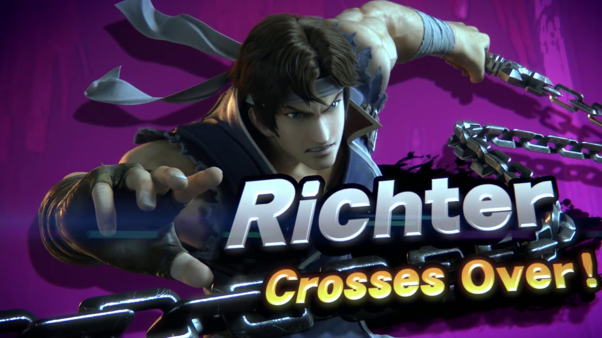 Smash Bros Ultimate contará con Richter y Simon Belmont de Castlevania