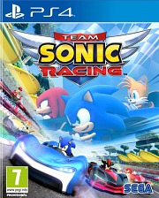 Carátula de Team Sonic Racing - PS4