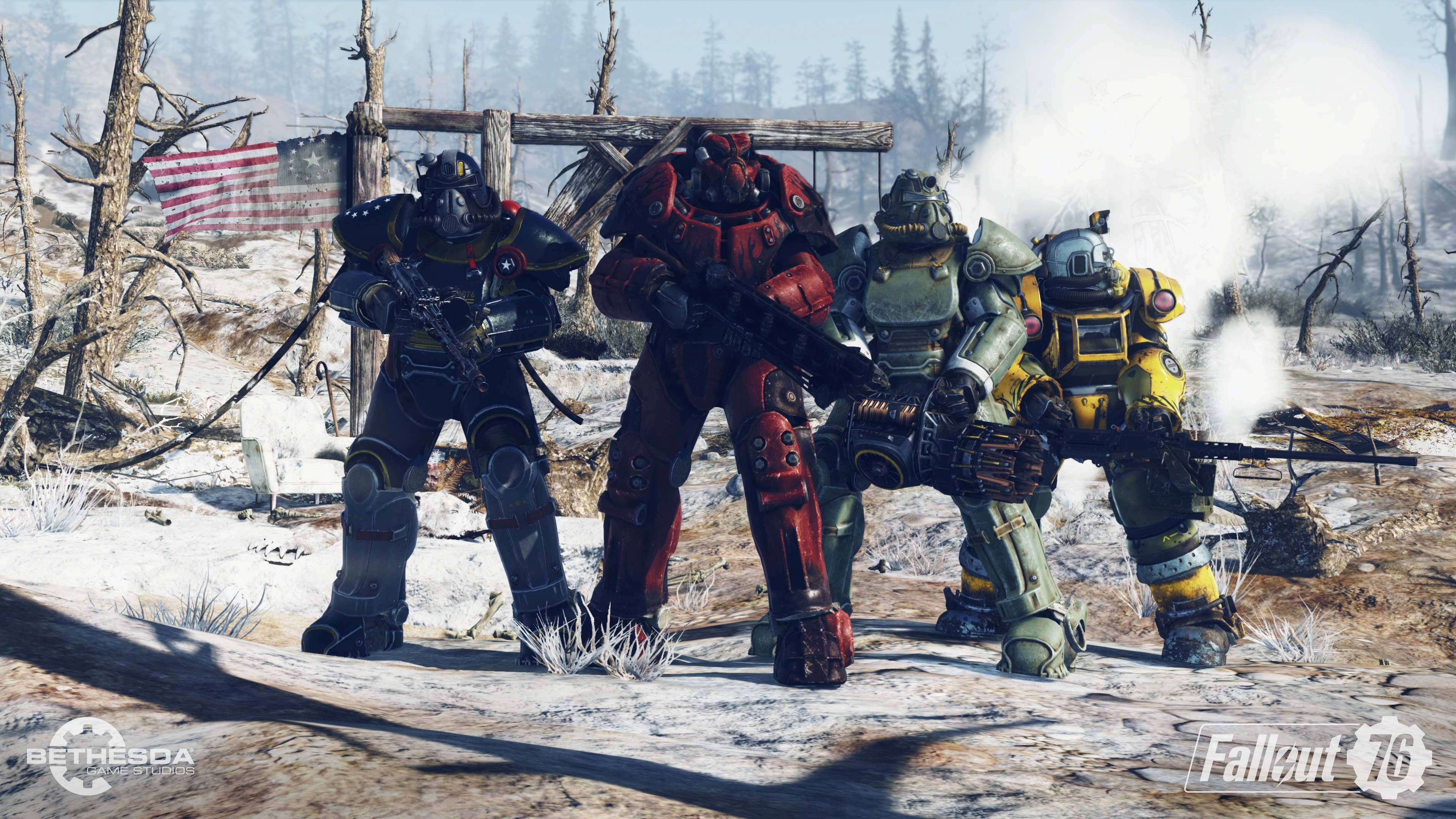 Fallout 76 no estará disponible en Steam
