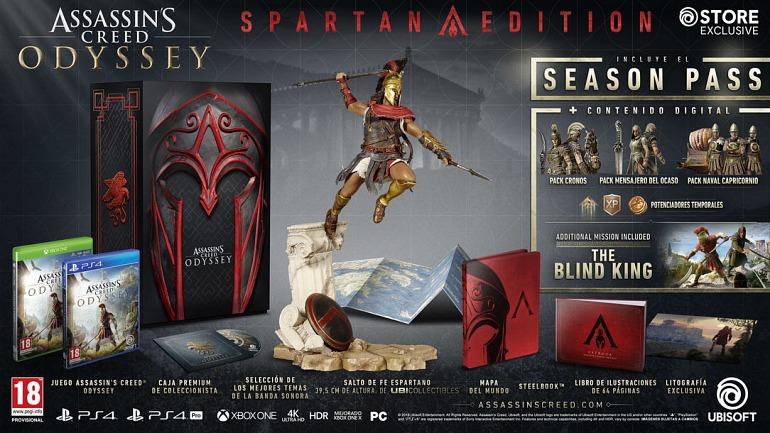 Assassin's Creed Odyssey presenta sus ediciones de ...