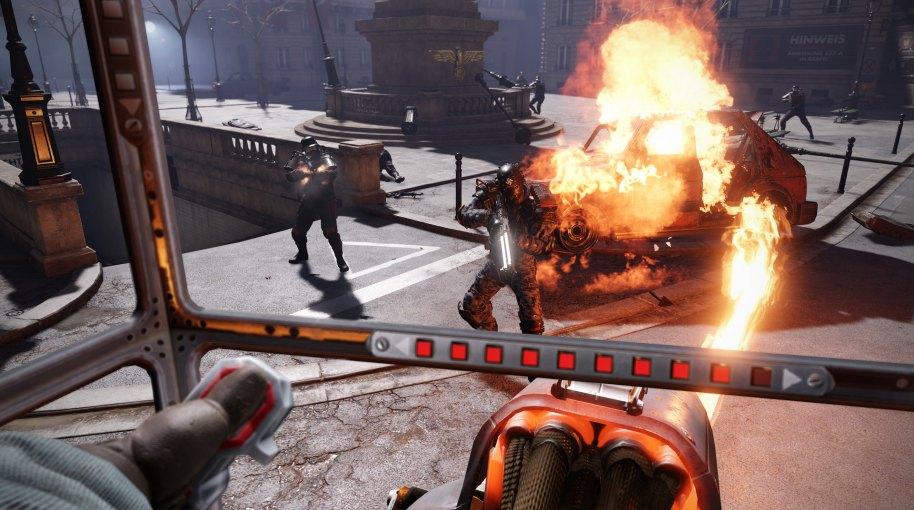 Wolfenstein Cyberpilot PS4