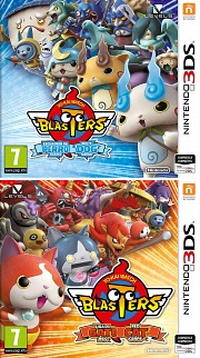 Carátula de Yo-Kai Watch Blasters - 3DS
