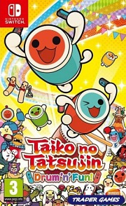 Carátula de Taiko no Tatsujin: Drum 'n' Fun! - Nintendo Switch