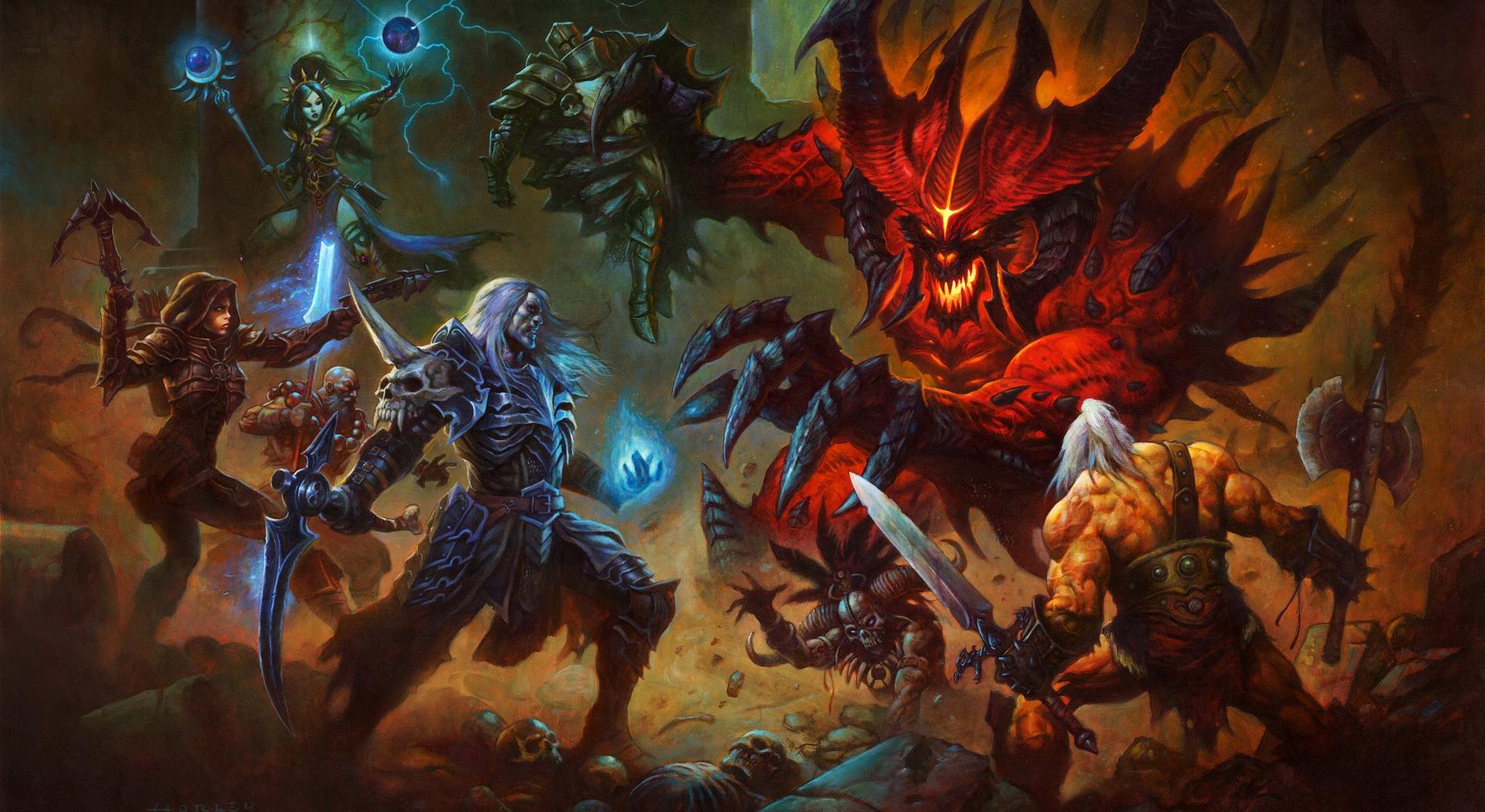 Diablo Immortal, para móviles, no pretende imitar la saga en PC