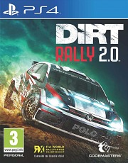Carátula de Dirt Rally 2.0 - PS4