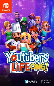 Carátula de Youtubers Life OMG! - Nintendo Switch