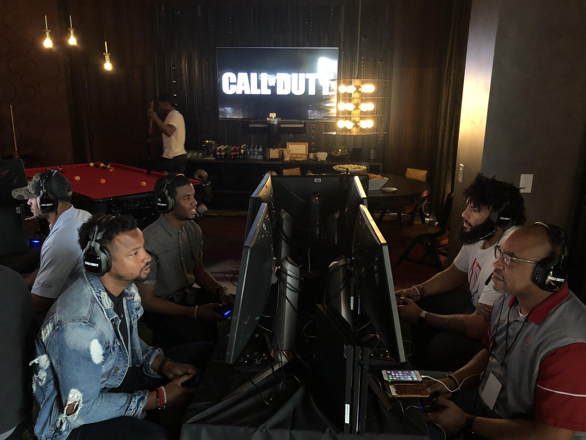 Numerosos deportistas profesionales ya han jugado a Call of Duty 2019