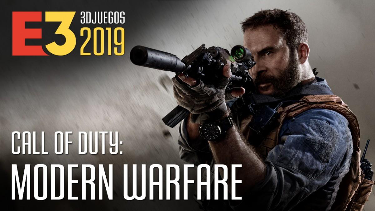 Video Impresiones E3 2019 de Call of Duty: Modern Warfare (PS4, PC, XOne)