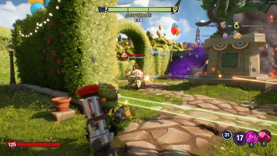Plants vs. Zombies La Batalla de Neighborville análisis