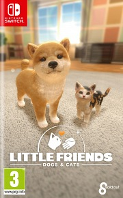 Carátula de Little Friends: Dogs & Cats - Nintendo Switch