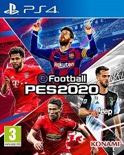 Carátula de PES 2020 - PS4