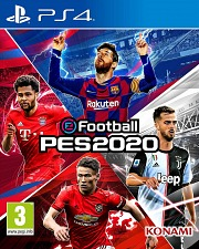 Carátula de PES 2020 eFootball Pro Evolution Soccer 2020 - PS4