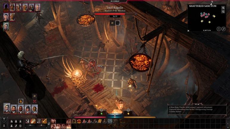 Las alturas jugarán un papel fundamental en los combates de Baldur's Gate 3