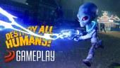 Electrocutamos a humanos en este vídeo gameplay de Destroy All Humans!