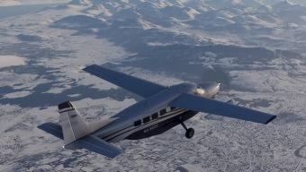 Flight Simulator celebra la Navidad presentándonos la nieve en este tráiler fotorrealista