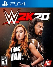 Carátula de WWE 2K20 - PS4
