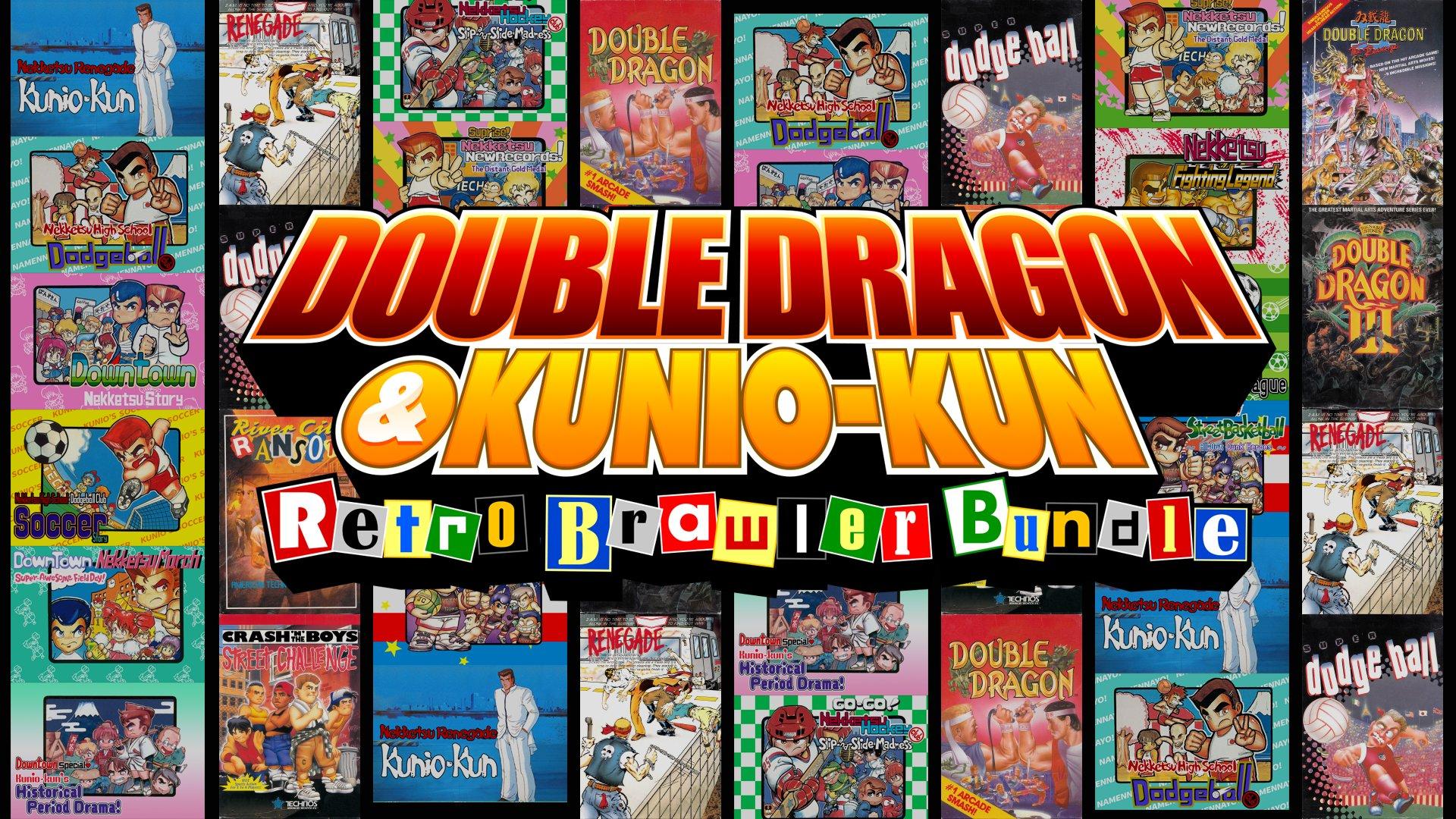 Double Dragon & Kunio Kun: Retro Brawler Bundle, pack de clásicos ...