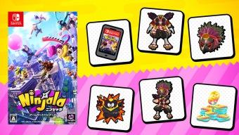 Ninjala, lo nuevo de GungHo para Nintendo Switch, se lanzará en formato físico en Japón