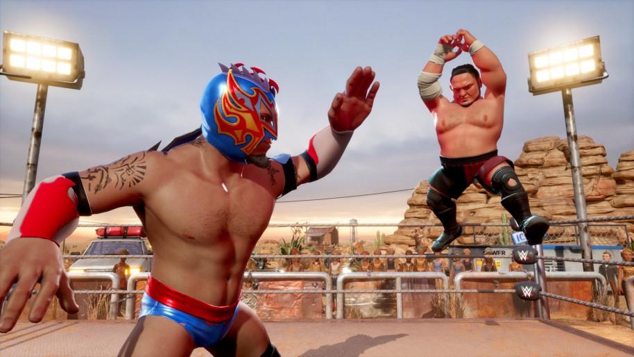 WWE 2K Battlegrounds: WWE 2K Battlegrounds, el wrestling más desenfadado de 2K