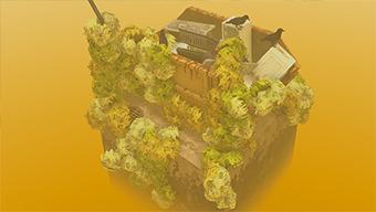 Conoce Cloud Gardens, un juego que te permite crear diminutos jardines en un futuro apocalíptico