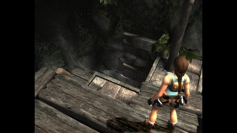 Lara Croft Tomb Raider: Anniversary.