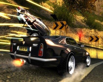 Burnout Dominator: Burnout Dominator: Avance 3DJuegos