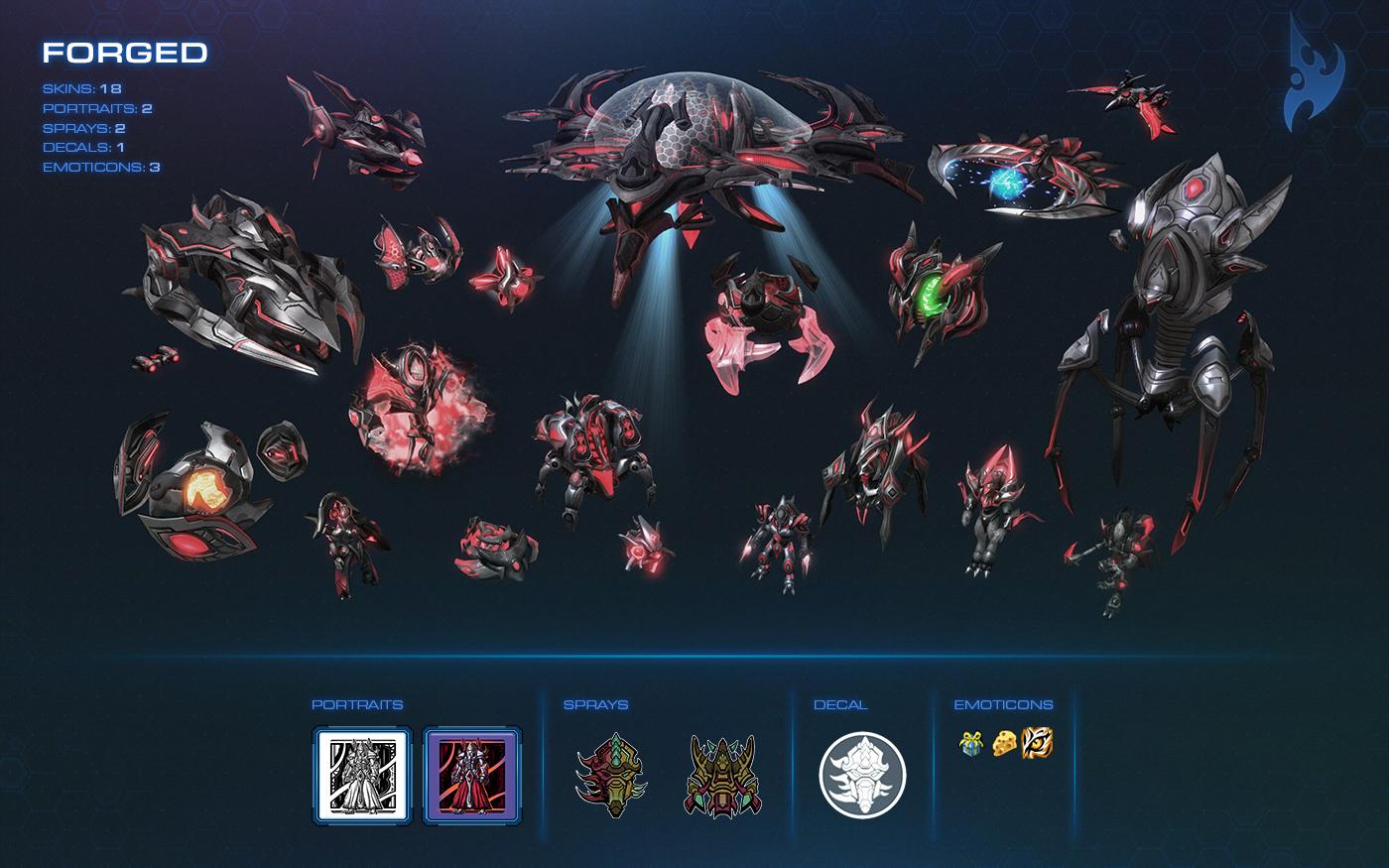 StarCraft 2 tendrá Cofres de Guerra al más puro estilo DOTA 2