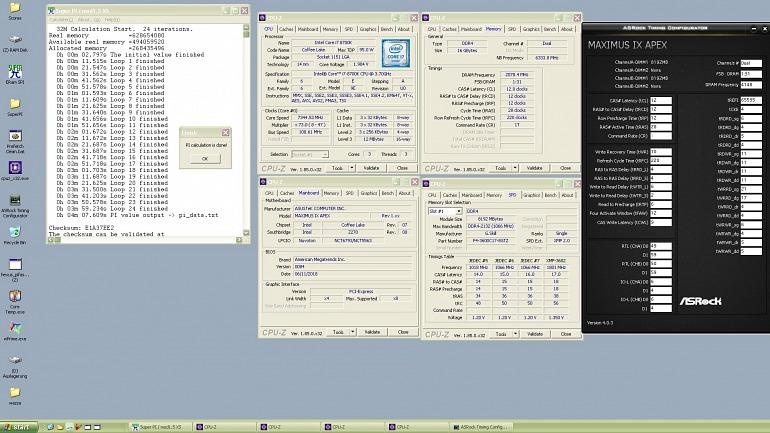 Un overclocker lleva el i7-8700K a los 7,34 GHz y bate un récord mundial