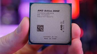 Ya está disponible el baratísimo procesador Athlon 200GE de AMD