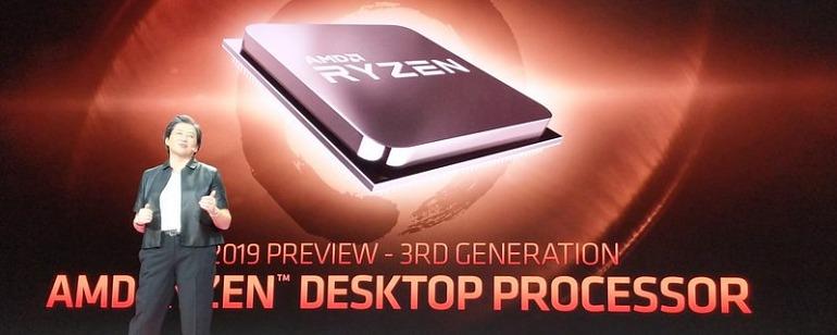 AMD muestra la potencia de Ryzen 3000