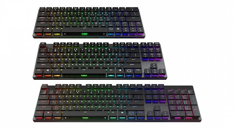 Cooler Master presenta su línea SK de teclados inalámbricos